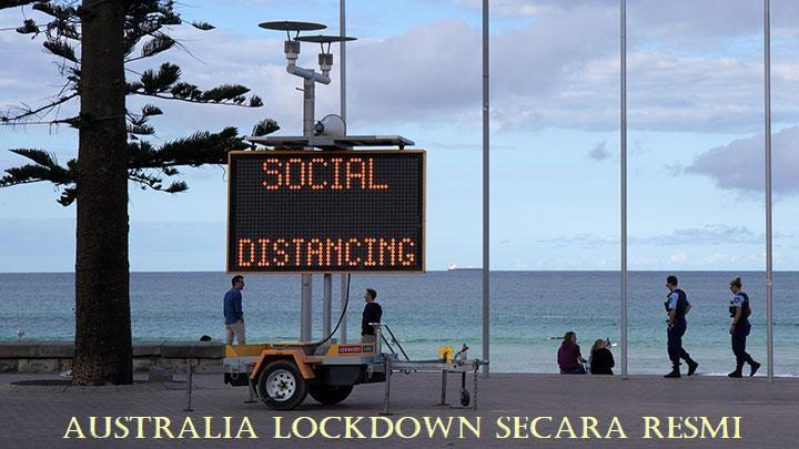 Australia Lockdown Secara Resmi