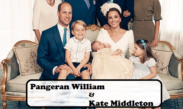 Pangeran William & Kate Middleton Hapus Cara Lama Didik Anaknya